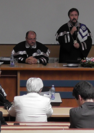 Professor Honoris Causa - Maczelka Noemi